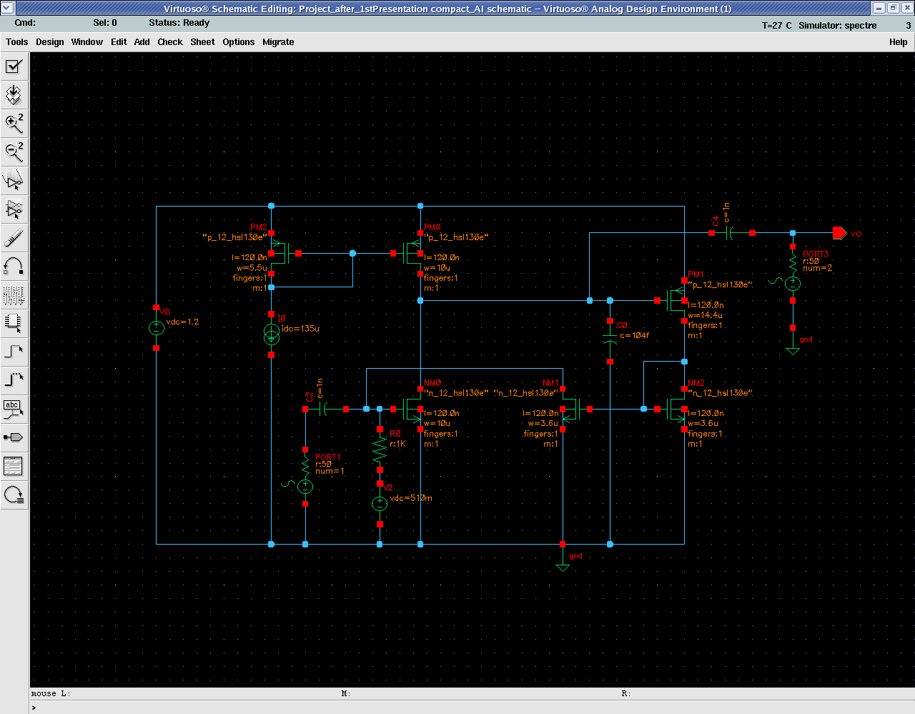The Designers Guide Community Forum Active Inductor Simulation Circuits With Inductors Compact Ai